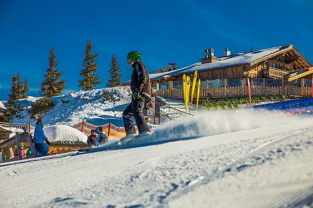 Les différentes pistes de ski