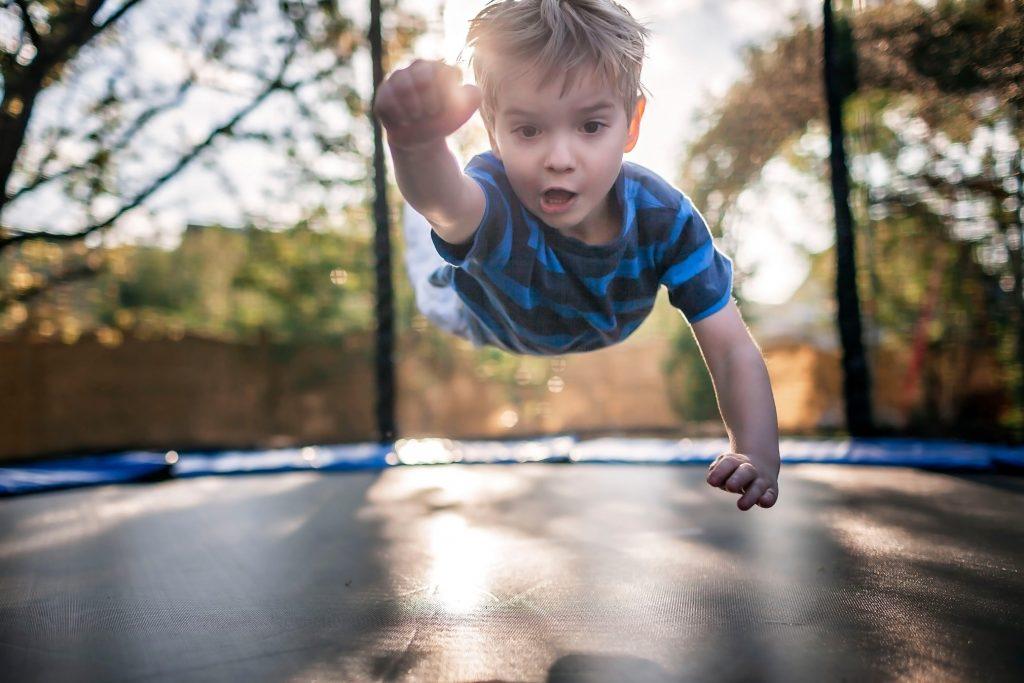 trampoline-enfant