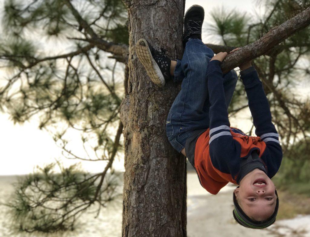 enfant-grimpe